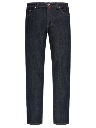 Luxury dark denim jeans v DARK BLUE