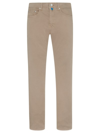 Modische Futureflex Jeans, Lyon Tapered Fit in BEIGE