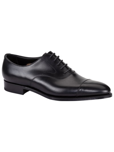 Eleganter Businessschuh, Oxford in SCHWARZ