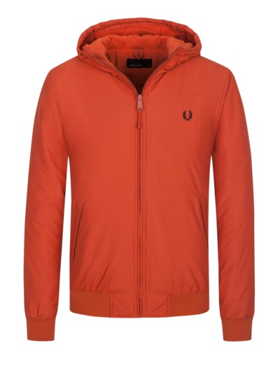 Freizeitjacke mit Fleece-Futter in ORANGE