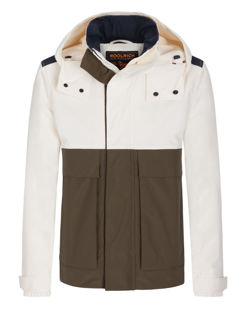 Freizeitjacke, Sailing Jacket in OFFWHITE