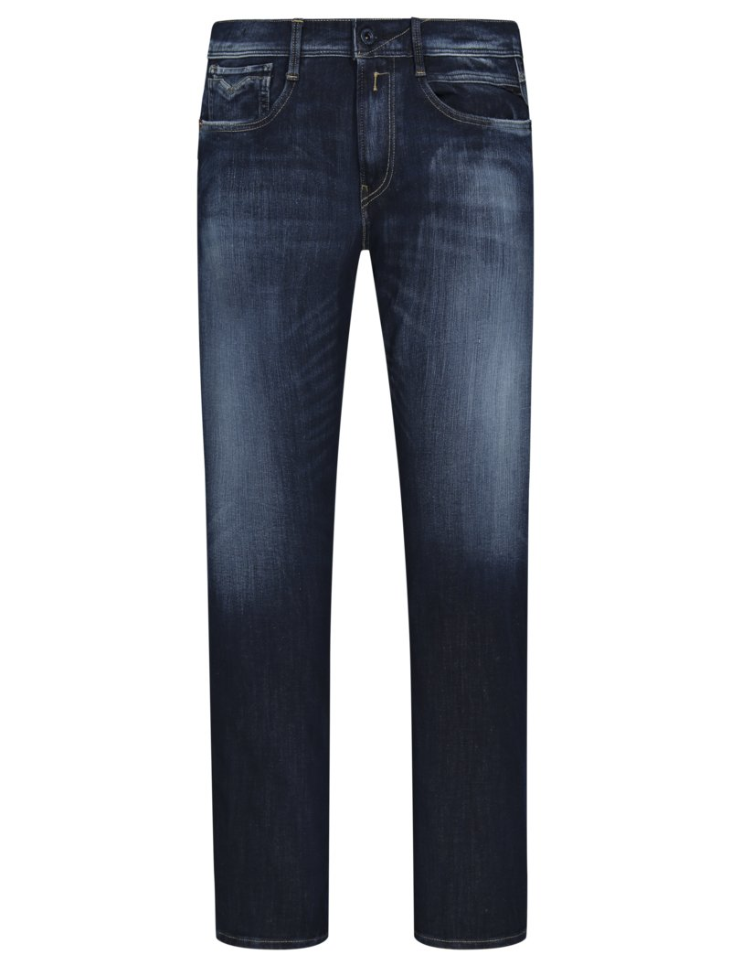 Slim Fit Jeans, Anbass, blau in BLAU