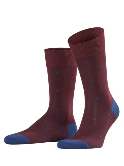 Hochwertige Socken, Dot in ROYAL