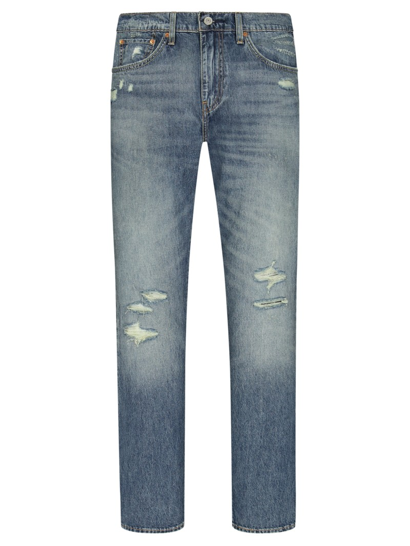 Jeans mit Stretchanteil, 512, Slim Fit in STONE