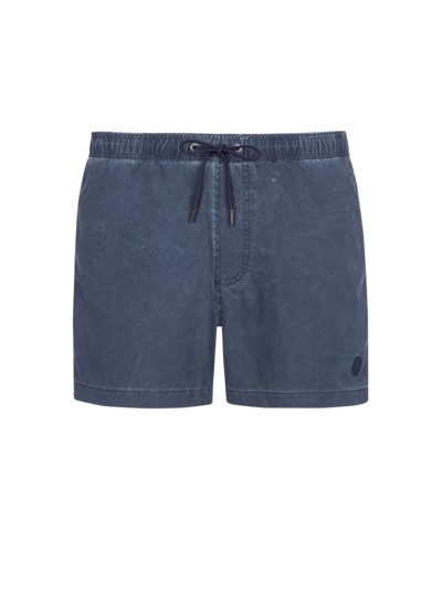 Badehose im Washed-Look in MARINE
