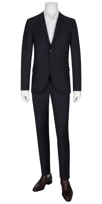 Businessanzug, Jile/Tordon, Slim Fit in MARINE
