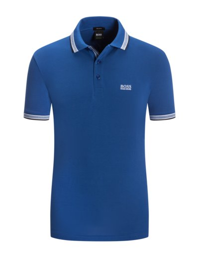 Poloshirt, Regular Fit in MARINE
