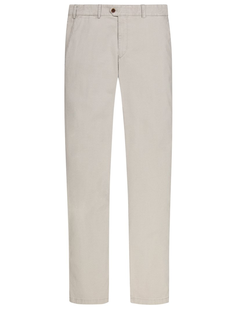 Chino in modischer Struktur und Stretchanteil, Joe 319 in KHAKI