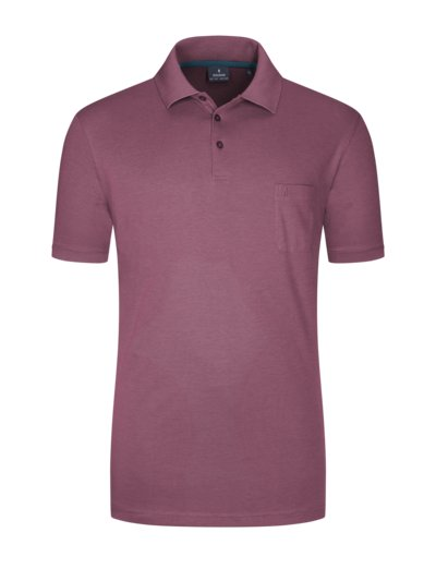 Poloshirt, Pinpoint-Optik in GRUEN