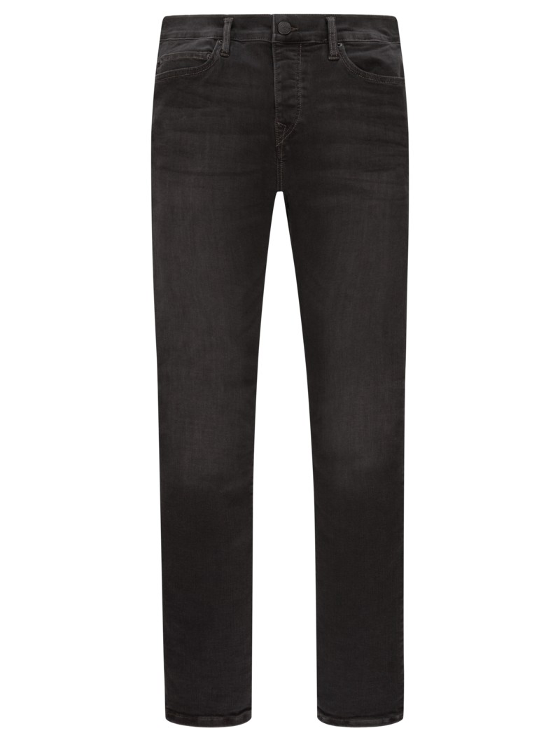 Jeans mit Stretchanteil, Relaxed Skinny in GRAU