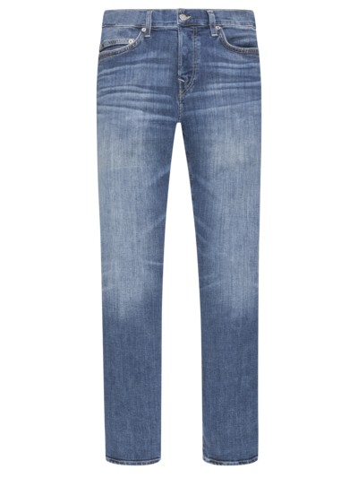 5-Pocket Jeans, Rocco, Relaxed Skinny in BLAU
