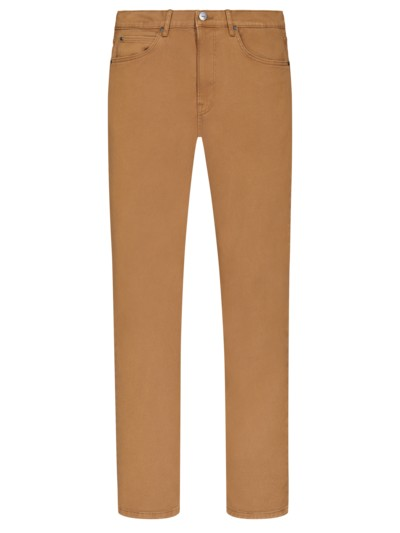 5-Pocket-Hose, Daren Zip in BEIGE
