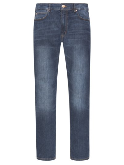 5-Pocket Jeans mit Stretchanteil, Skinny Fit in BLAU