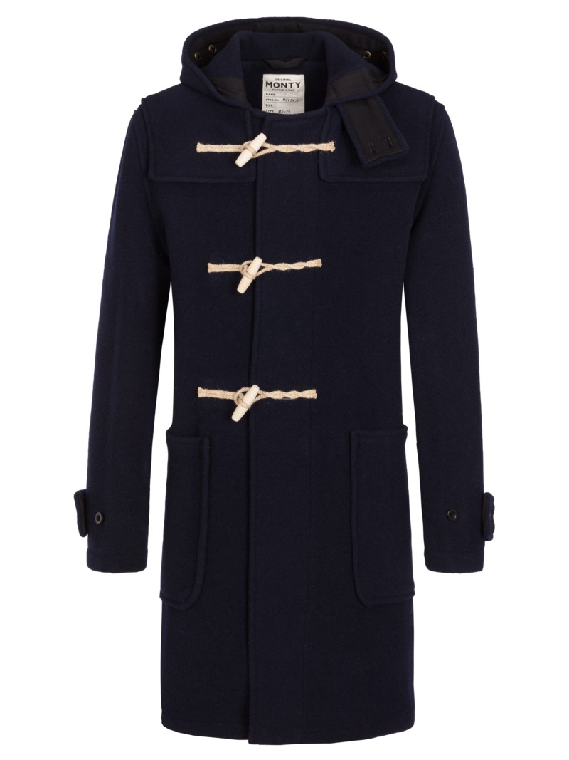 Duffle Coat in MARINE