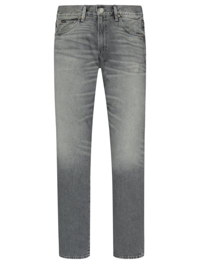 5 Pocket Jeans, Sullivan Slim in GRAU