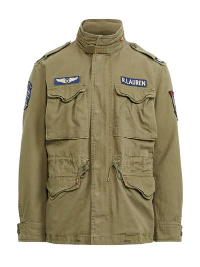 Fieldjacket im Military-Look in OLIV