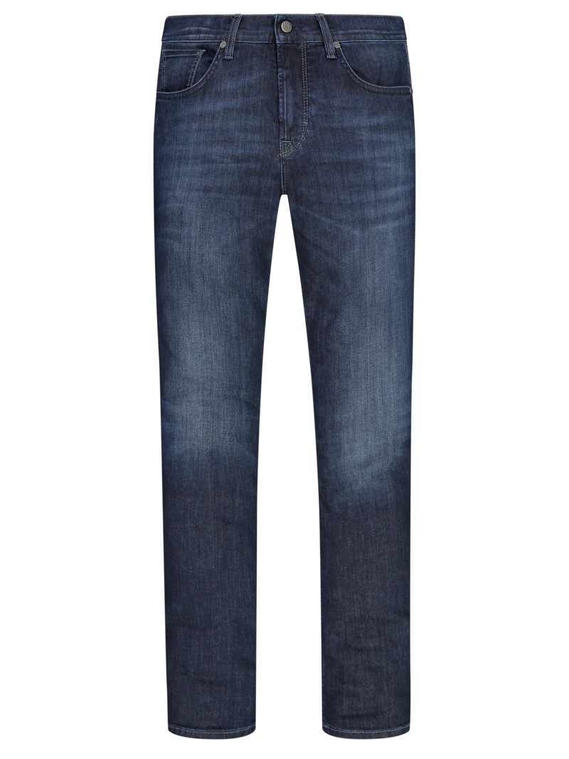Jeans mit Stretchanteil, John, Slim Fit in DENIM