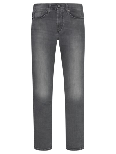 Jeans mit Stretchanteil, John, Slim Fit in GRAU
