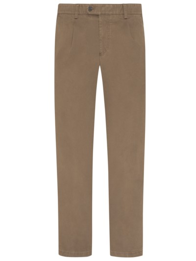 Chino mit Stretchanteil, Luis in BEIGE