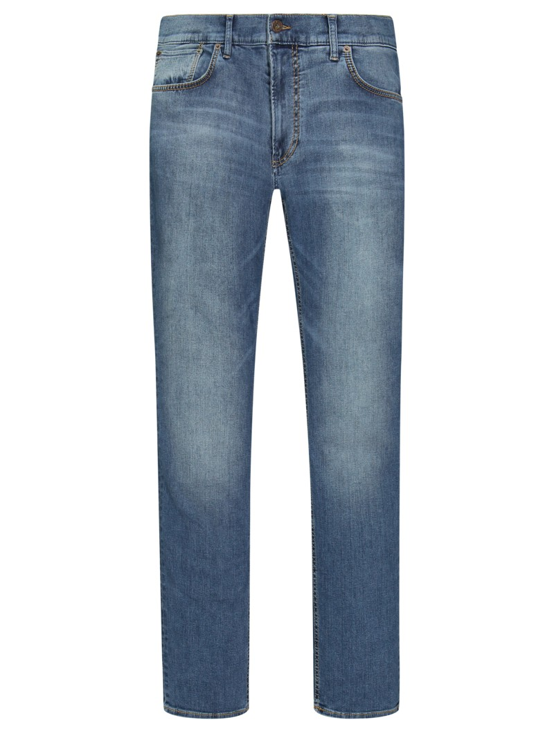 5-Pocket Jeans mit HiFlex, Chuck, Modern Fit in BLAU