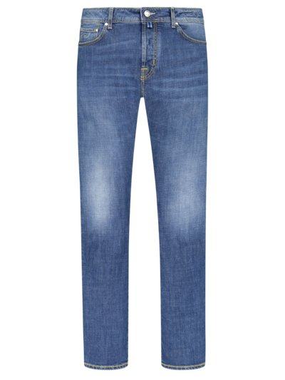 Hochwertige Jeans in 5-Pocket-Form, J688 in BLAU