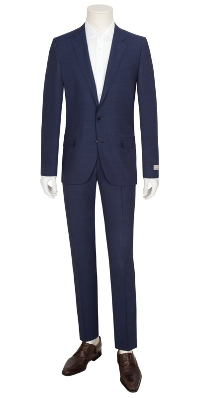 Hochwertiger Businessanzug, Impeccabile in NAVY