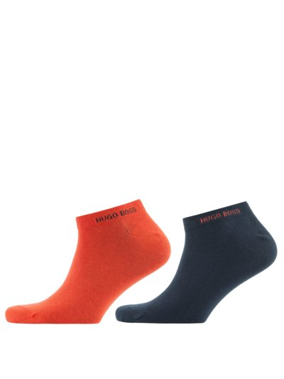 Doppelpack Sneaker Socken in ORANGE