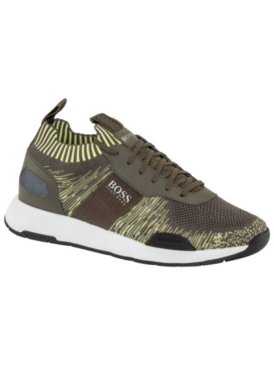 Sock-Sneaker, Titanium Runner in GRAU