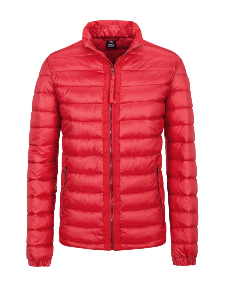 Steppjacke mit 'ISOCLOUD_500' in ROT