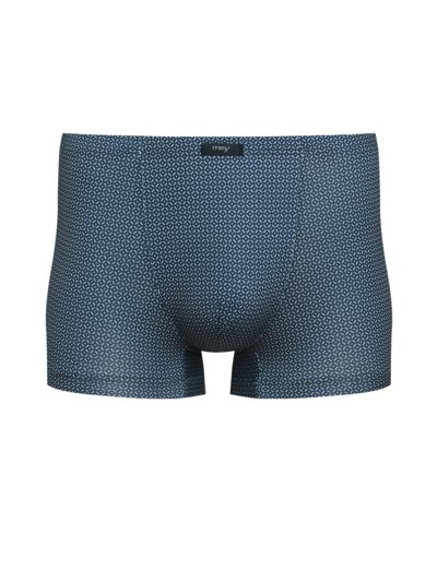 Boxer-Pants im Minimalmuster in MARINE