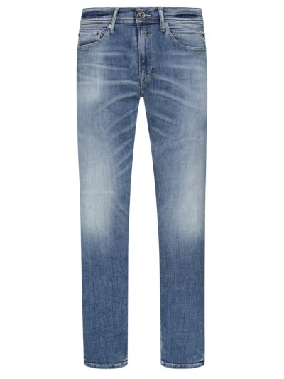 Jeans, Jondrill in BLAU
