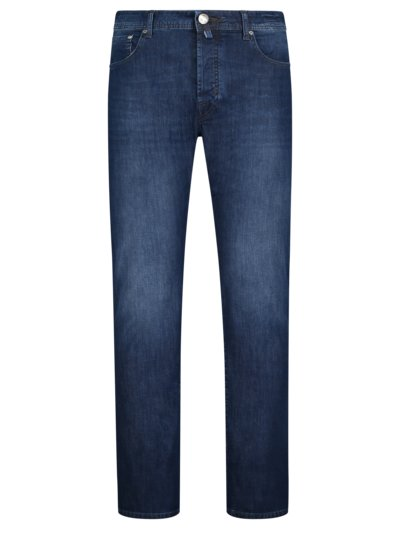 Jeans, Slim Fit in BLAU