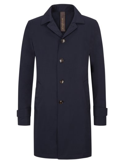Mantel, Travel-Coat in MARINE