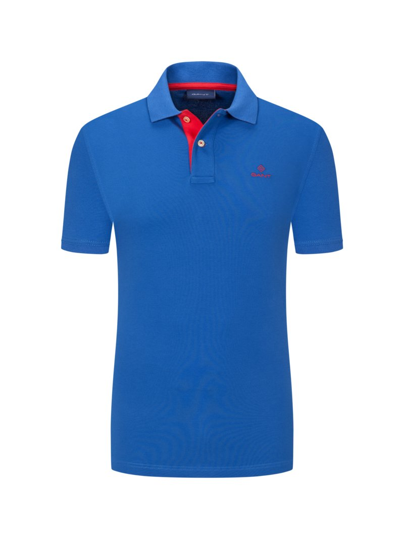 Poloshirt mit Stretchanteil in ROYAL
