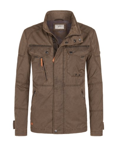 Fieldjacke in BRAUN
