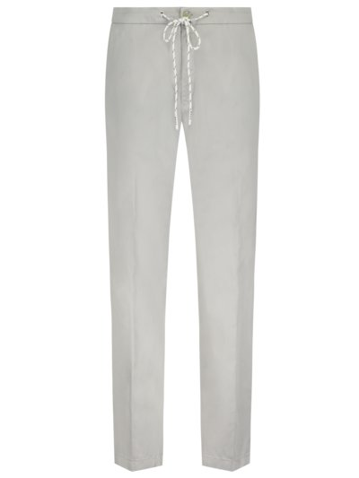 Chino im Baumwoll-Mix, BRX Lab, Cropped Fit in GRAU