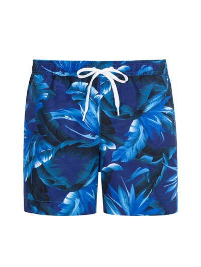 Badehose mit Muster in BLAU