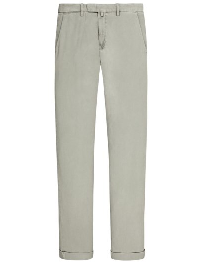 Chino, Slim Fit, in Minimalstruktur in SAND