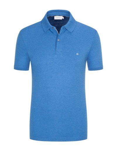 Poloshirt in Jersey-Qualität, Slim Fit in ROYAL