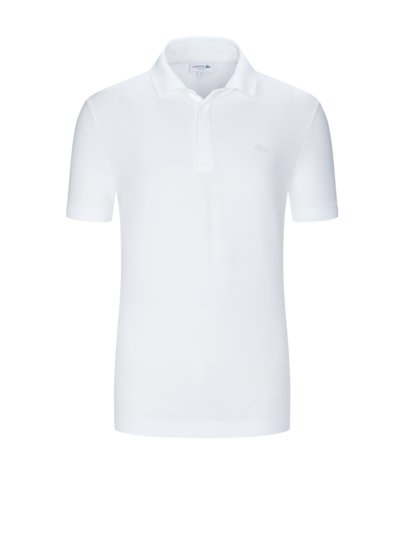 Poloshirt mit Stretchanteil, Regular Fit in WEISS