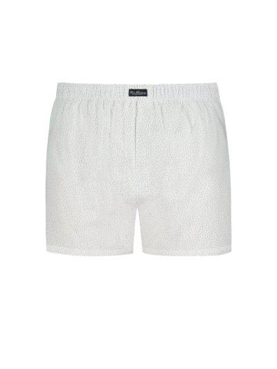 Boxershorts mit Muster in WEISS