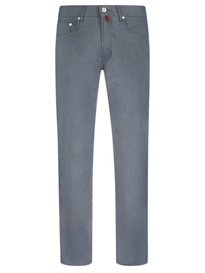 5-Pocket-Hose, Modern Fit, Lyon in ANTHRAZIT