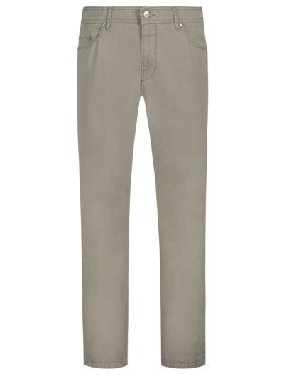 5-Pocket mit Stretchanteil in KHAKI