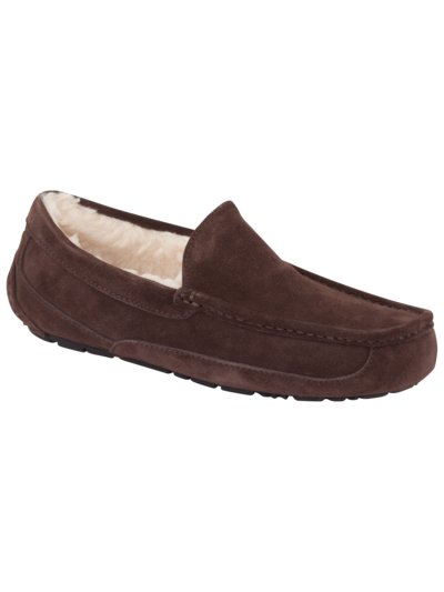 Hausschuhe in Loafer Form in BRAUN