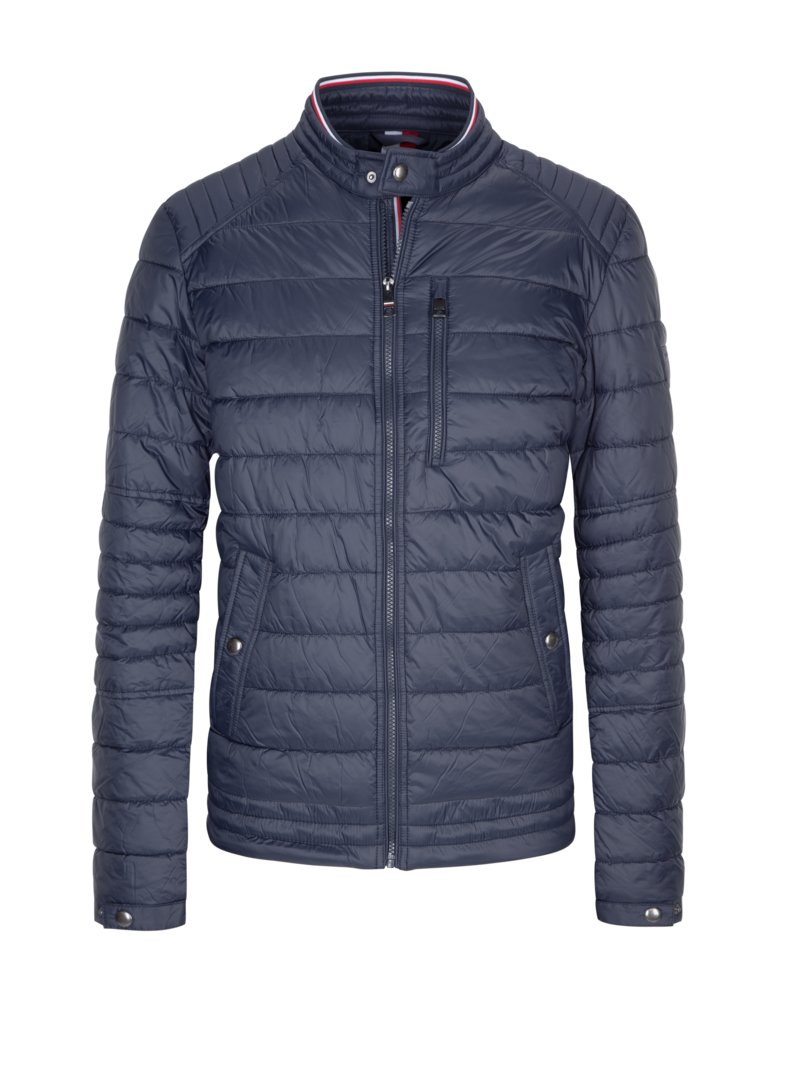Steppjacke in GRAU