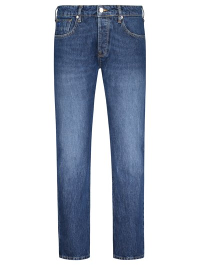 Jeans in klassischer Waschung, Ralston, Regular Slim Fit in BLAU