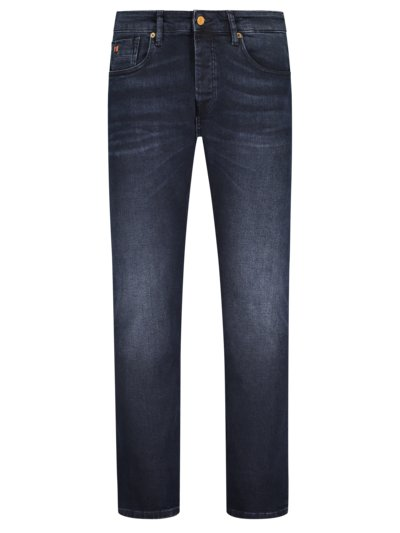 Jeans mit Button-Fly, Ralston, Regular Slim Fit in NAVY