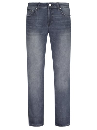 5-Pocket Jeans mit Stretchanteil, Skim, Super Slim Fit in BLAU