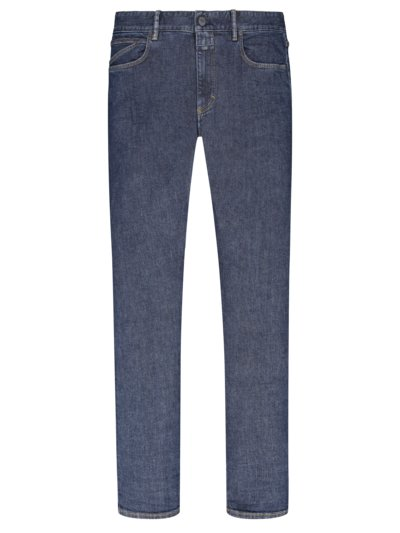 Jeans, Slim Fit in MARINE