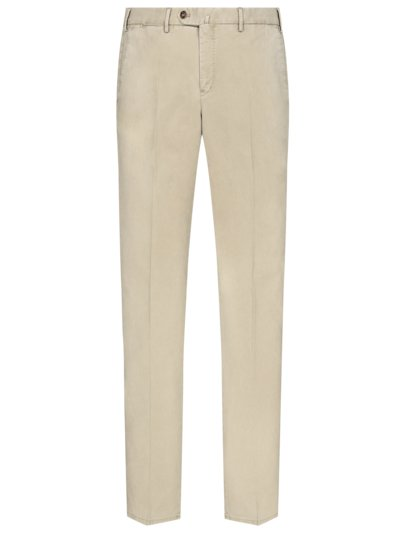 Chino im Washed-Look in BEIGE